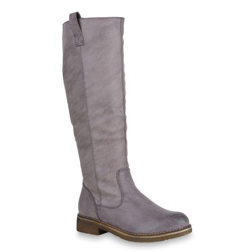3ee07fe2ac0d0 Damen Stiefel in Grau (819556-514) - stiefelparadies.de