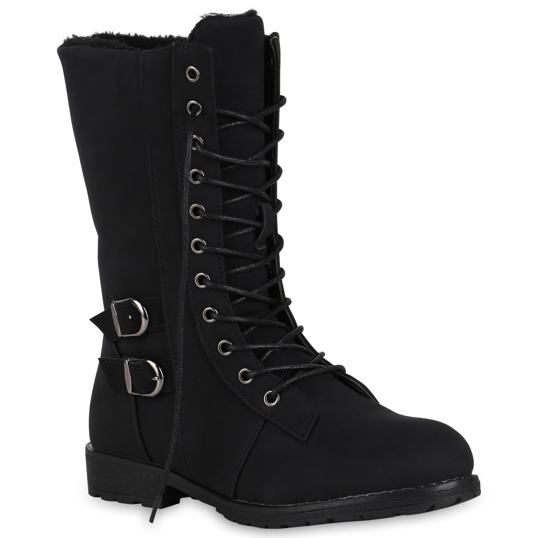 94b46d48ab6f Damen Schnürstiefel Warm Gefütterte Stiefel Winter Profil 819682 Schuhe