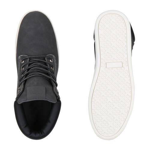 Herren Sneaker High Herren Sneaker Sneaker Grau Grau High Herren TPPnWS
