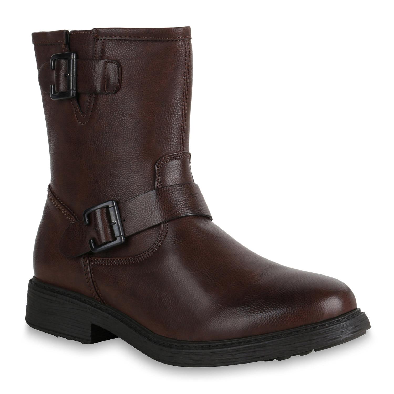 herren boots in dunkelbraun 819905 3317. Black Bedroom Furniture Sets. Home Design Ideas