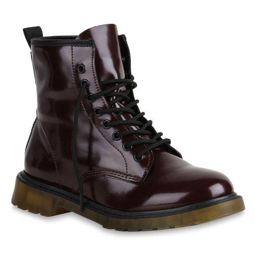Stiefeletten Damen Damen Dunkelrot Boots Worker Worker Worker Stiefeletten Worker Stiefeletten Dunkelrot Damen Boots Boots Boots Stiefeletten Dunkelrot Damen A8I0rn6Axq