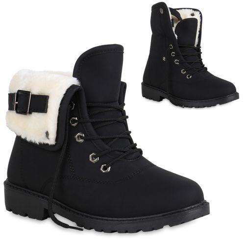 Designer Leder Damen Stiefel Winter Schuhe gefüttert Schwarz