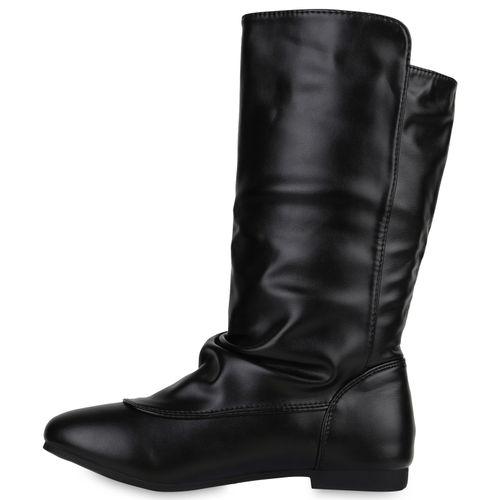 Billig Damen Schuhe Damen Stiefel in Schwarz 8200213401