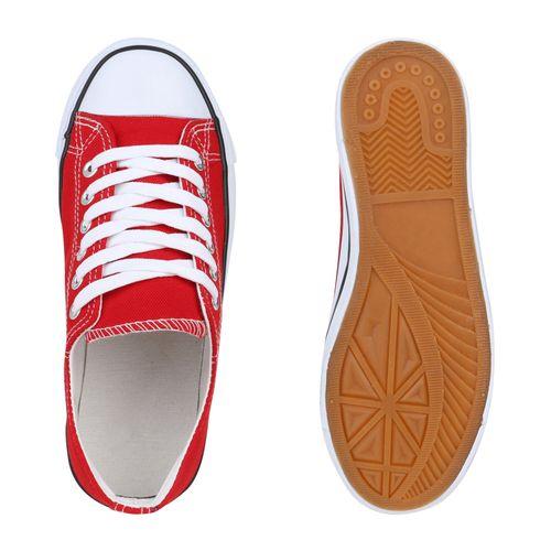 Billig Damen Schuhe Damen Sneaker in Rot 820202523
