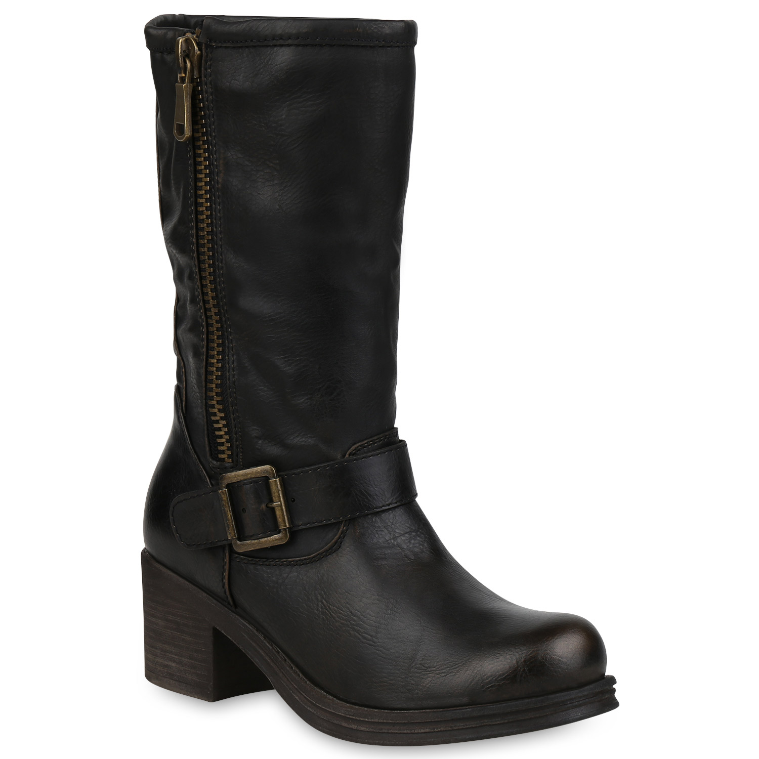 7fc8615c758ba7 Damen Stiefel in Gold (820207-155) - stiefelparadies.de
