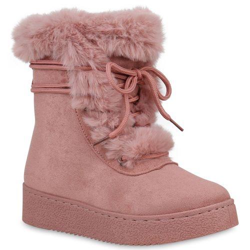 Damen Rosa Stiefeletten Damen Rosa Damen Boots Stiefeletten Winter Boots Stiefeletten Winter Winter gAqXnBBw