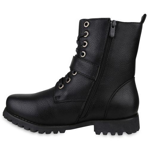 Herren Boots Worker Boots - Schwarz