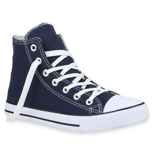 Herren Sneaker high - Marineblau