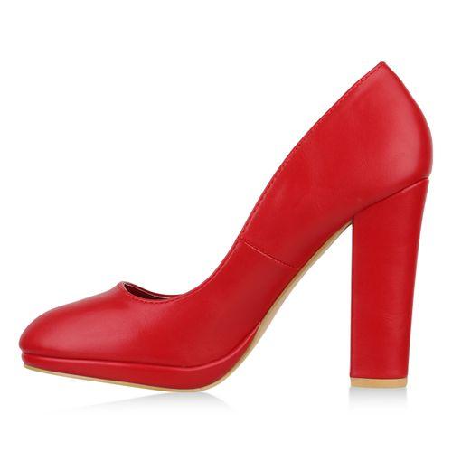 Damen Rot Rot Pumps Klassische Damen Pumps Klassische tPFRqwW