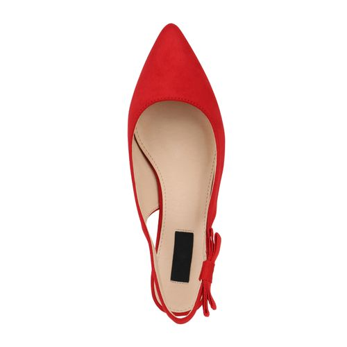 Damen Pumps Slingpumps - Rot