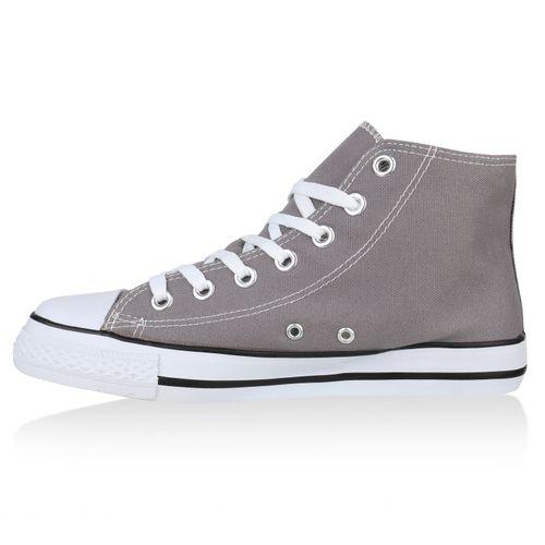 Herren Grau Herren High Sneaker Sneaker High 8FwqFE7z