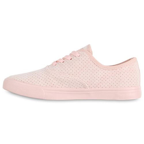 Damen Damen Sneaker Low Rosa Rosa Sneaker Low RRrqa