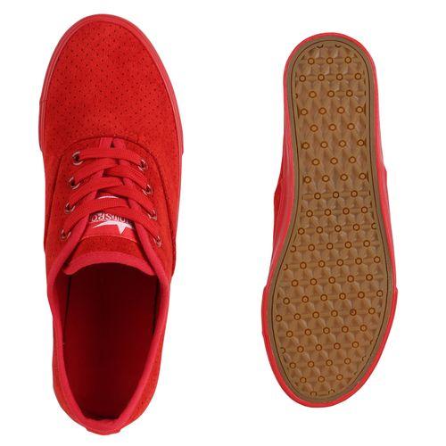 Damen Damen Rot Low Sneaker Sneaker XHrZqzSwxH