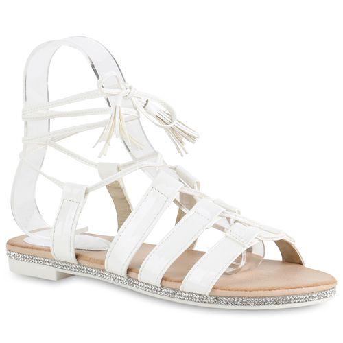 Damen Sandalen in Weiß (820608-686) - stiefelparadies.de 0ffc25c1a8