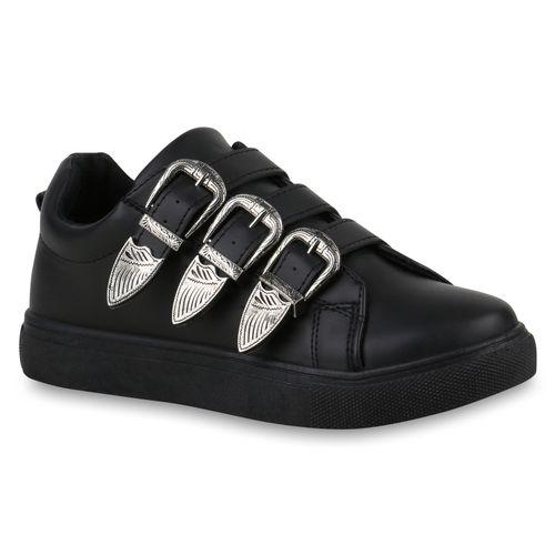 Damen Schwarz Damen Sneaker Sneaker Low Sneaker Schwarz Damen Low 7qgxIBIw