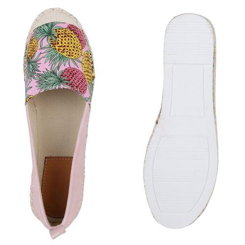 Damen Slippers Espadrilles Damen Rosa Espadrilles Rosa Rosa Slippers Espadrilles Damen Slippers FqEx6R4
