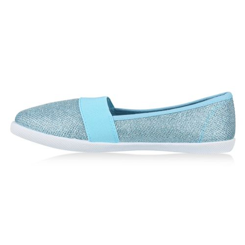 Damen Damen Slip Slippers Slippers Ons Hellblau aR1WqY6Zw