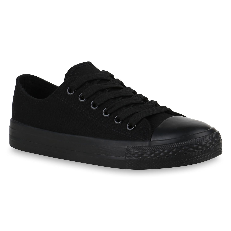 Sneakers - Damen Sneaker low Schwarz Basic › stiefelparadies.de  - Onlineshop Stiefelparadies