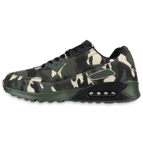 Herren Sportschuhe Laufschuhe - Grün Camouflage