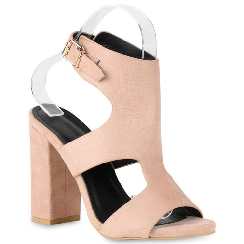Rosa Damen Damen High Rosa High Heels Heels Sandaletten Sandaletten Damen 6IP1Iraq
