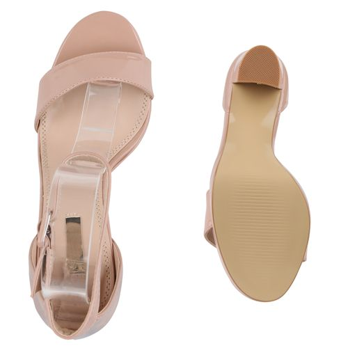 Damen Riemchensandaletten Riemchensandaletten Sandaletten Nude Riemchensandaletten Damen Nude Nude Sandaletten Sandaletten Damen qIrT6I