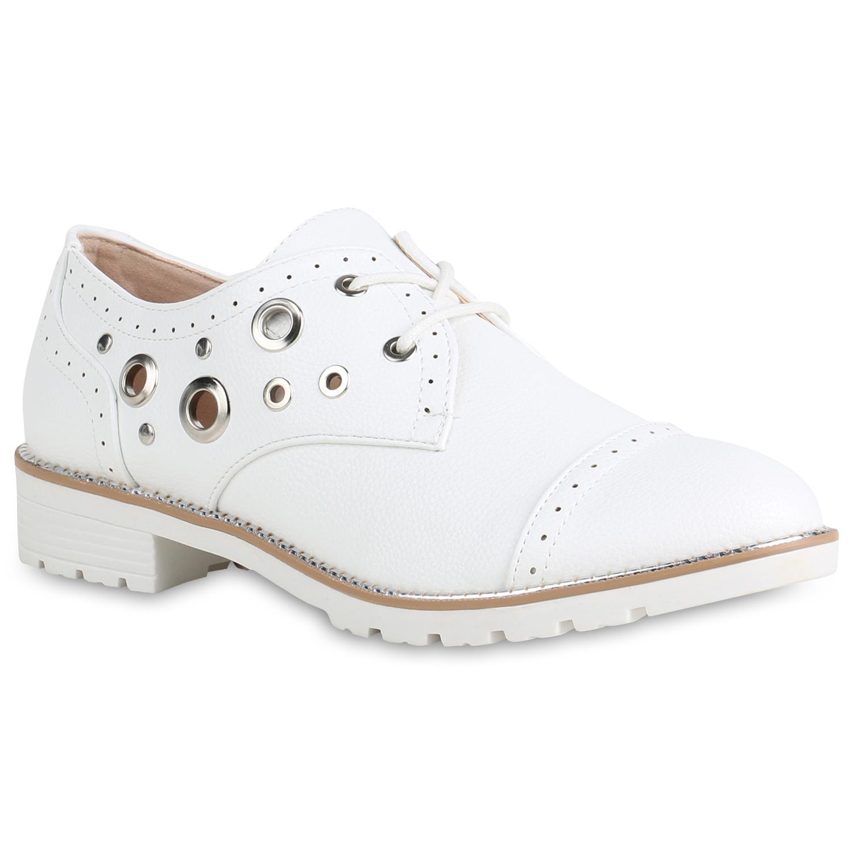 Damen Klassische Halbschuhe - Weiß