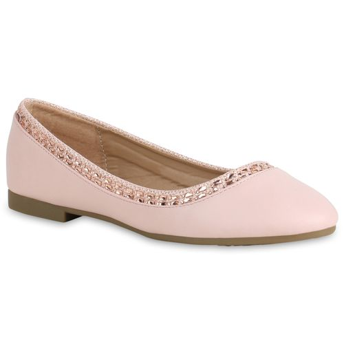 Damen Klassische Ballerinas - Rosa