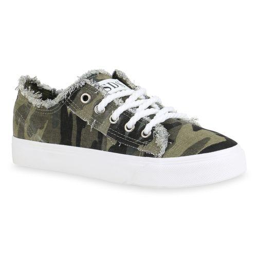 Camouflage Sneaker Low Sneaker Damen Low Damen Camouflage Damen 1HwXqd