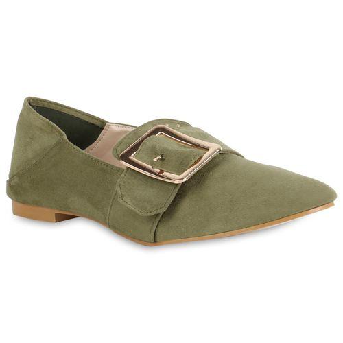 Damen Slippers Damen Dunkelgrün Damen Klassische Klassische Dunkelgrün Slippers SEtPq8