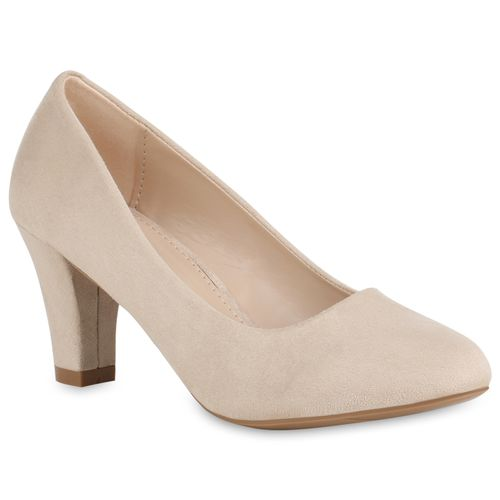 1eedcf0c246ed4 Damen Pumps in Creme (821070-493) - stiefelparadies.de
