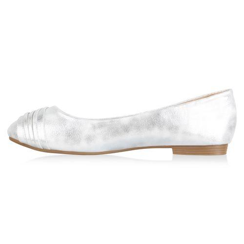 Damen Klassische Damen Weiß Klassische Klassische Damen Klassische Ballerinas Damen Weiß Weiß Ballerinas Ballerinas Bq5xvw
