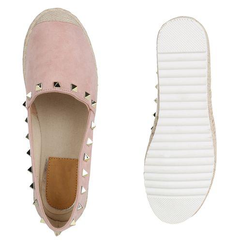 Damen Espadrilles Damen Slippers Slippers Rosa x66w8Y1z