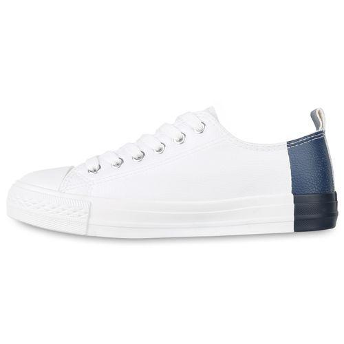 Dunkelblau Damen Damen Sneaker Low Sneaker zCp0qWg