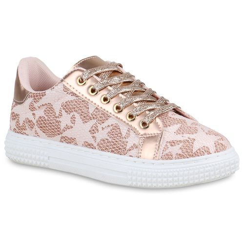 Damen Sneaker low Rose Gold