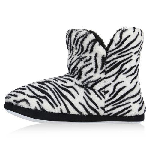 Damen Hausschuhe Klassische Hausschuhe - Zebra