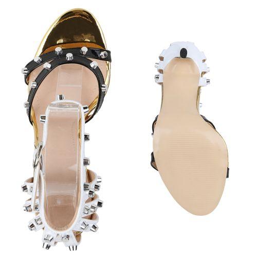 Heels Sandaletten High Sandaletten Heels Sandaletten High Damen Schwarz Schwarz Schwarz Heels Sandaletten Damen High Damen Damen qpwC66