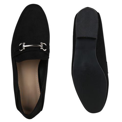 Damen Slippers Klassische Slippers - Schwarz