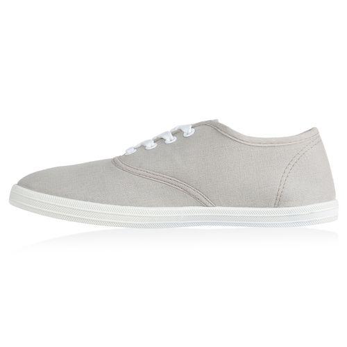 Damen Damen Sneaker Sneaker Low Grau Grau Low qZOCpw