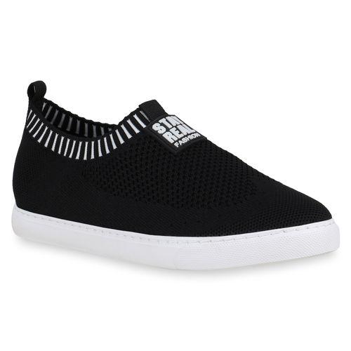 Schwarz Damen Ons Damen Sneaker Sneaker Slip OXzqfzw7