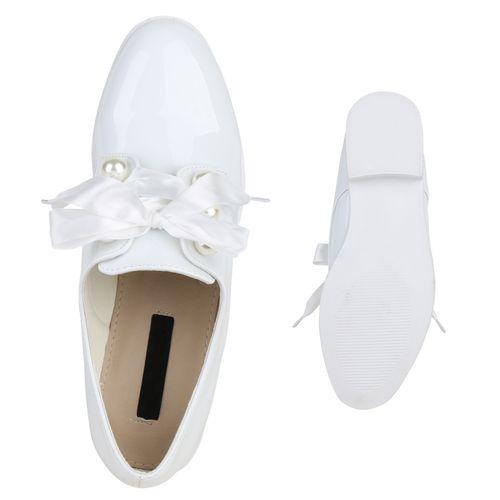 Damen Halbschuhe Klassische Halbschuhe - Weiß