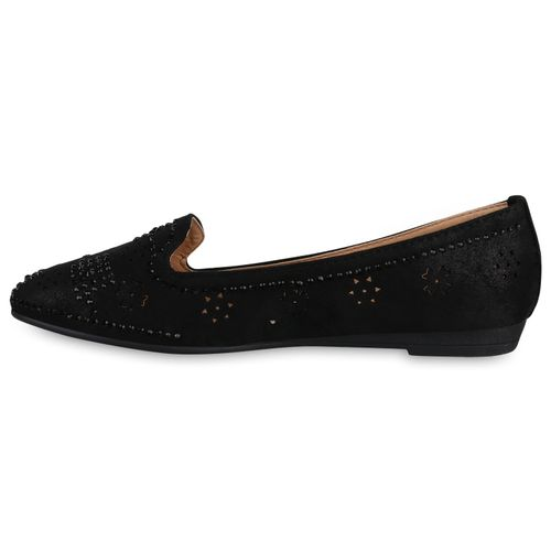 Slippers Damen Schwarz Slippers Loafers Damen 0wqRxZqz