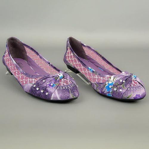 Damen Klassische Ballerinas - Lila