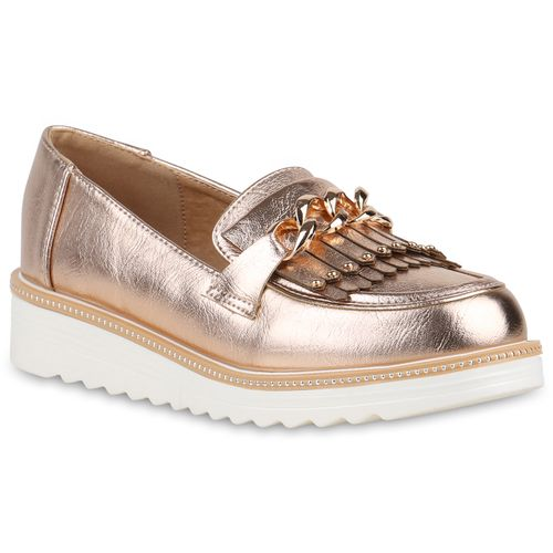 92483aba419231 Damen Slippers in Rose Gold (821731-4745) - stiefelparadies.de