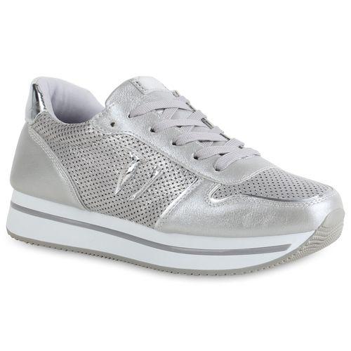 5f3c8016b98eb4 Damen Sneaker in Grau (821774-514) - stiefelparadies.de