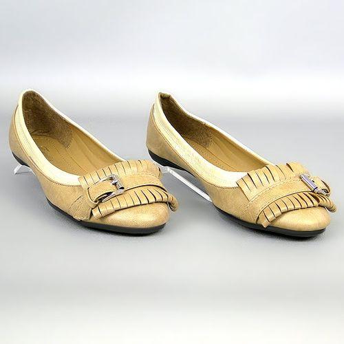 Damen Ballerinas Klassische Ballerinas - Khaki Beige
