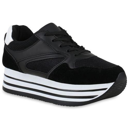 Schwarz Plateau Schwarz Damen Plateau Plateau Damen Sneaker Damen Schwarz Sneaker Damen Sneaker U7qXHw5