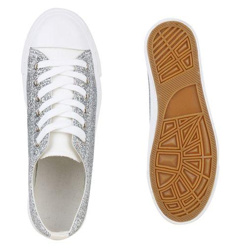 Silber Sneaker Damen Sneaker Sneaker Low Silber Damen Silber Sneaker Low Low Damen Low Damen nOwRAnqHY