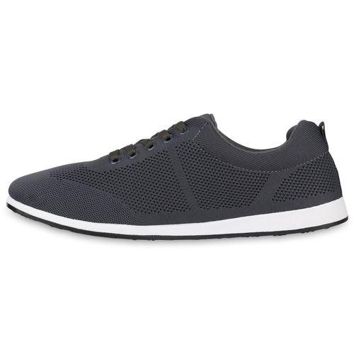 Herren Low Sneaker Sneaker Grau Herren Bwq878dv