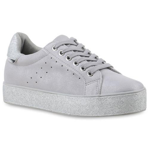 74f88be14694eb Damen Sneaker in Grau (822126-514) - stiefelparadies.de