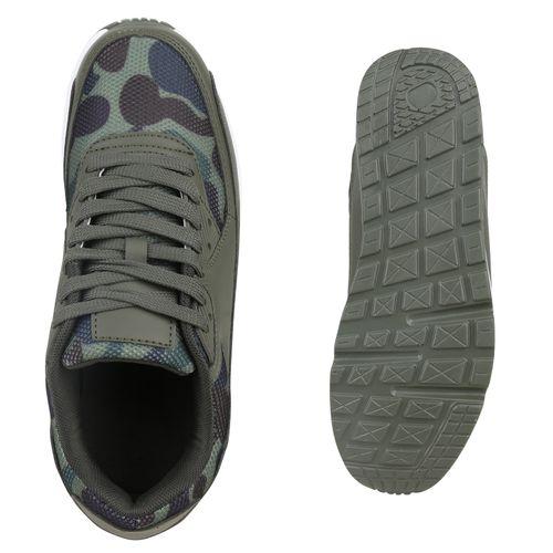 Dunkelgrün Damen Damen Sportschuhe Laufschuhe Laufschuhe Camouflage Dunkelgrün Camouflage Sportschuhe 110qRA